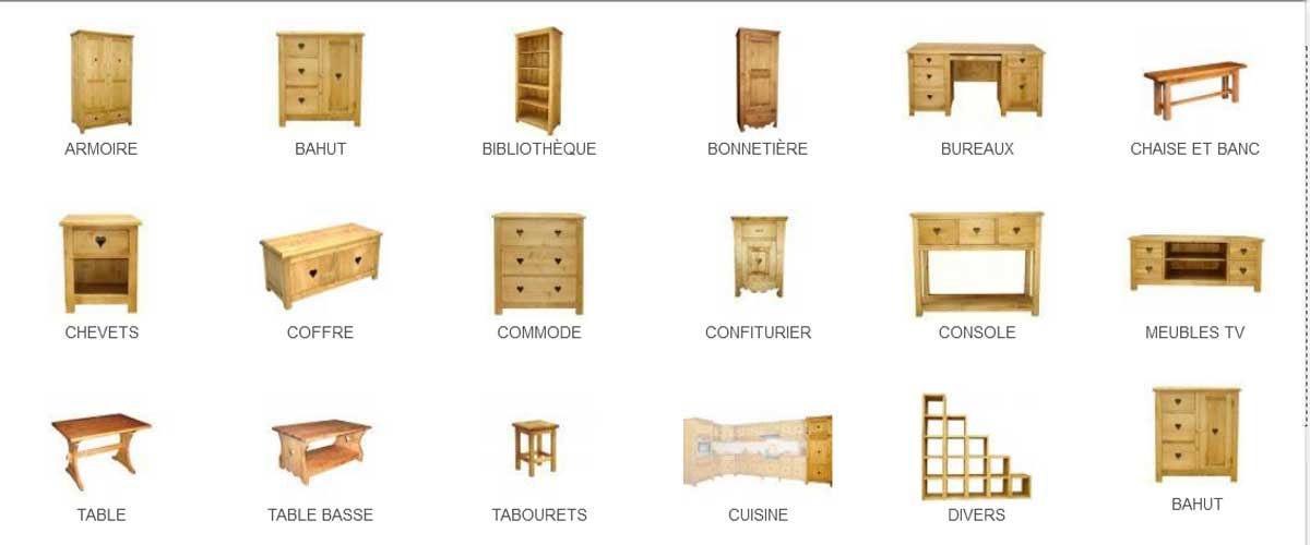 eco meubles meubles de style montagne haute savoie. Black Bedroom Furniture Sets. Home Design Ideas